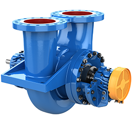 Goulds 3620 i-FRAME API 610 Single-Stage, Between-Bearing, Radially Split Pumps