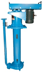 Goulds VRS Vertical Rubber-Lined Cantilever Pumps